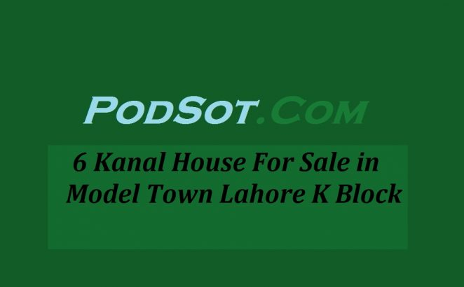 6 Kanal House for Sale in Lahore Model Town